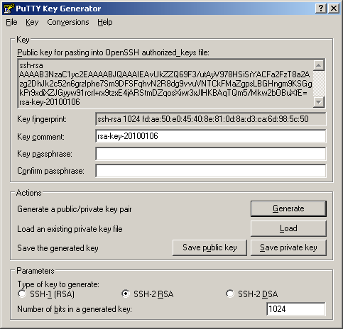 CS 140 TA - How to generate an SSH keypair
