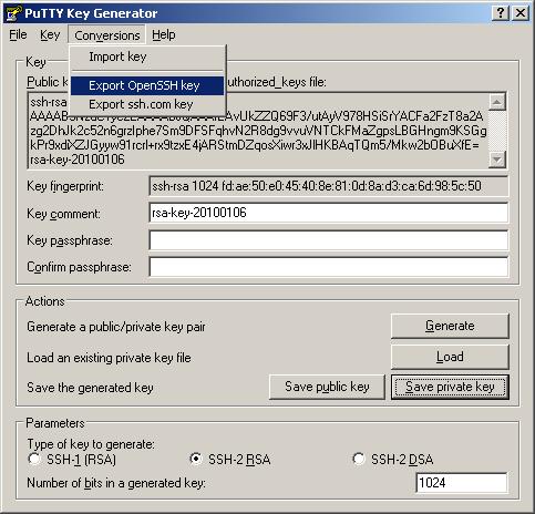 ssh rsa key generation linux